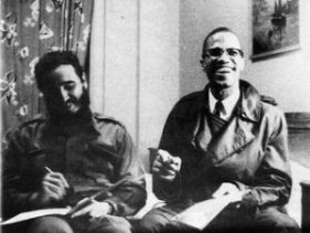 1960, Fidel and Malcolm X in Harlem