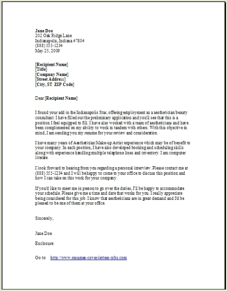 Cover Letter Closing Statement Sample - How to Close a Cover Letter ...