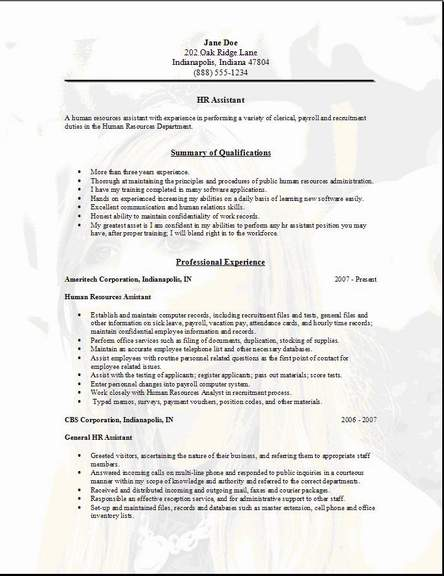 human resources assistant resume samples territory manager resume