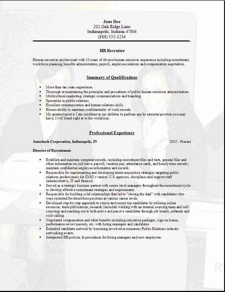 Human Resources Director Cover Letter Example Esl Admission