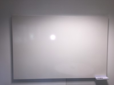 frameless office whiteboard