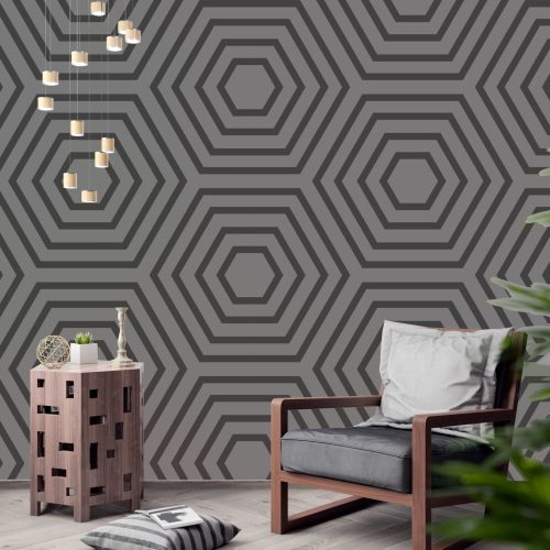 Hexagonal Tower wall art