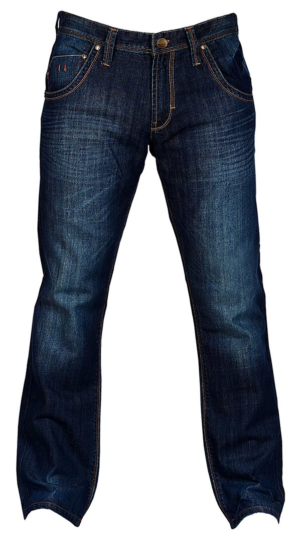 Motorcycle Jeans for men with armor - Indigo Sport - Riding Denim NZ