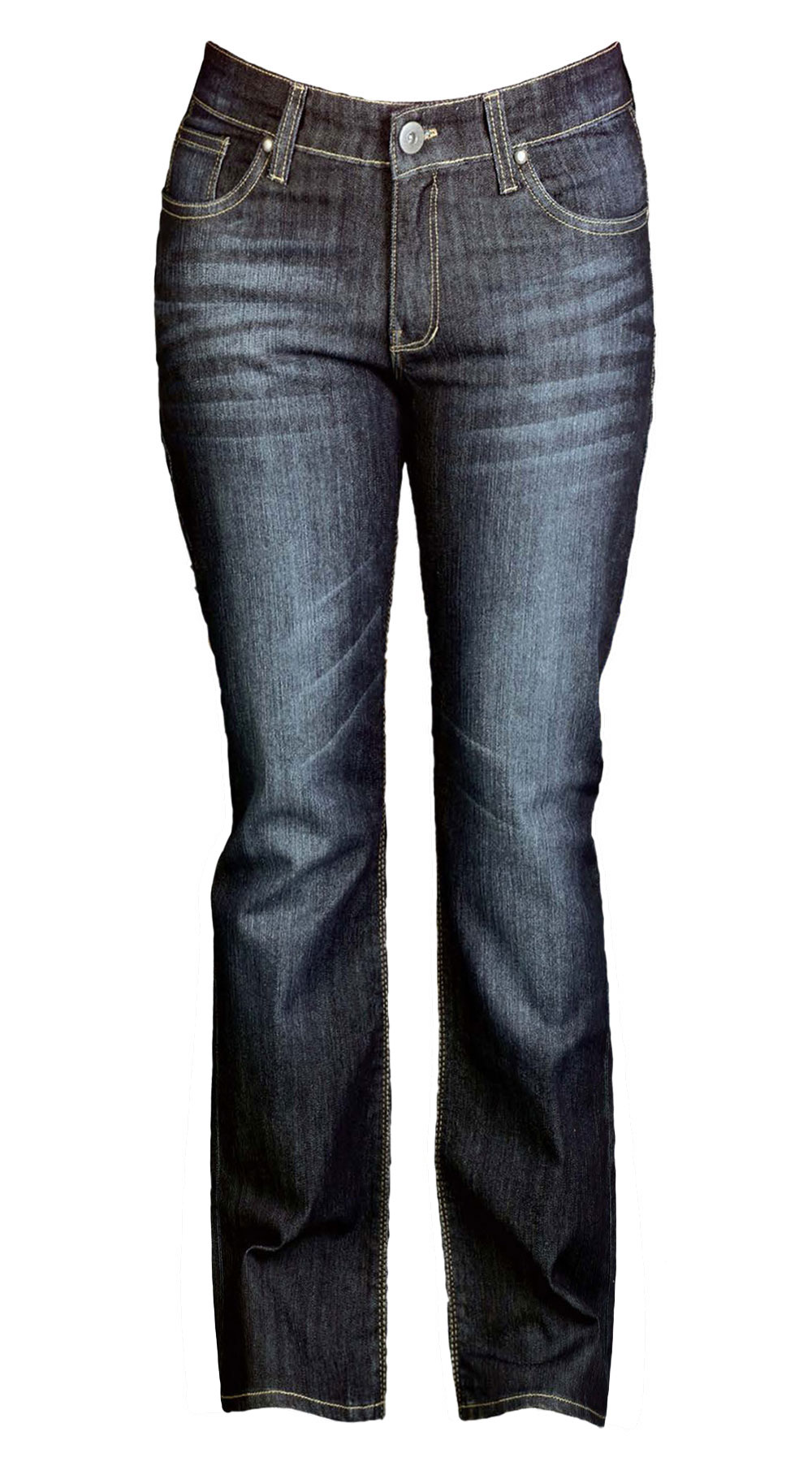 WOMENS JEANS : BLUE BLACK