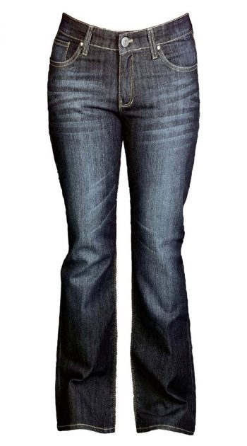 Womens motorcycle Jeans with armor - Blue Black