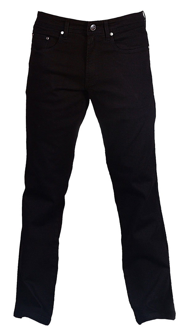 Motorcycle Jeans for men with armor - Jet Black - Riding Denim NZ