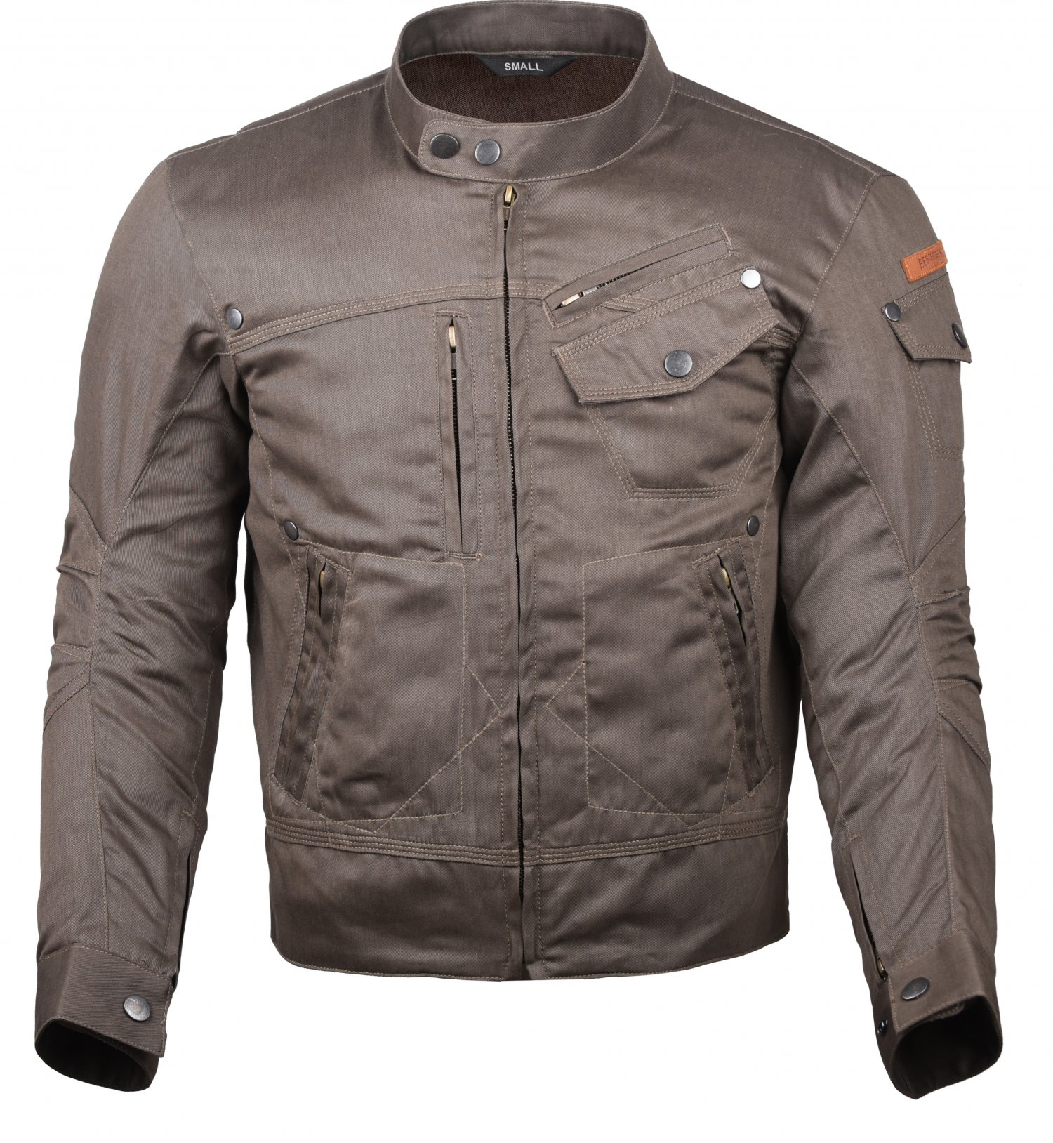 protective motorcycle jacket front