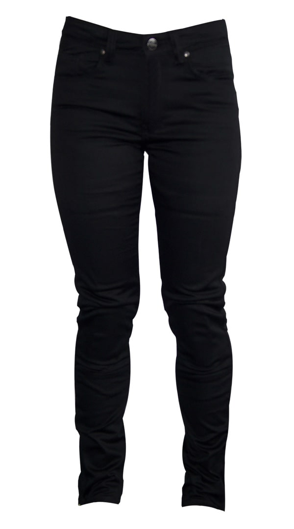 Womens motorcycle Jeans - Skinny Black