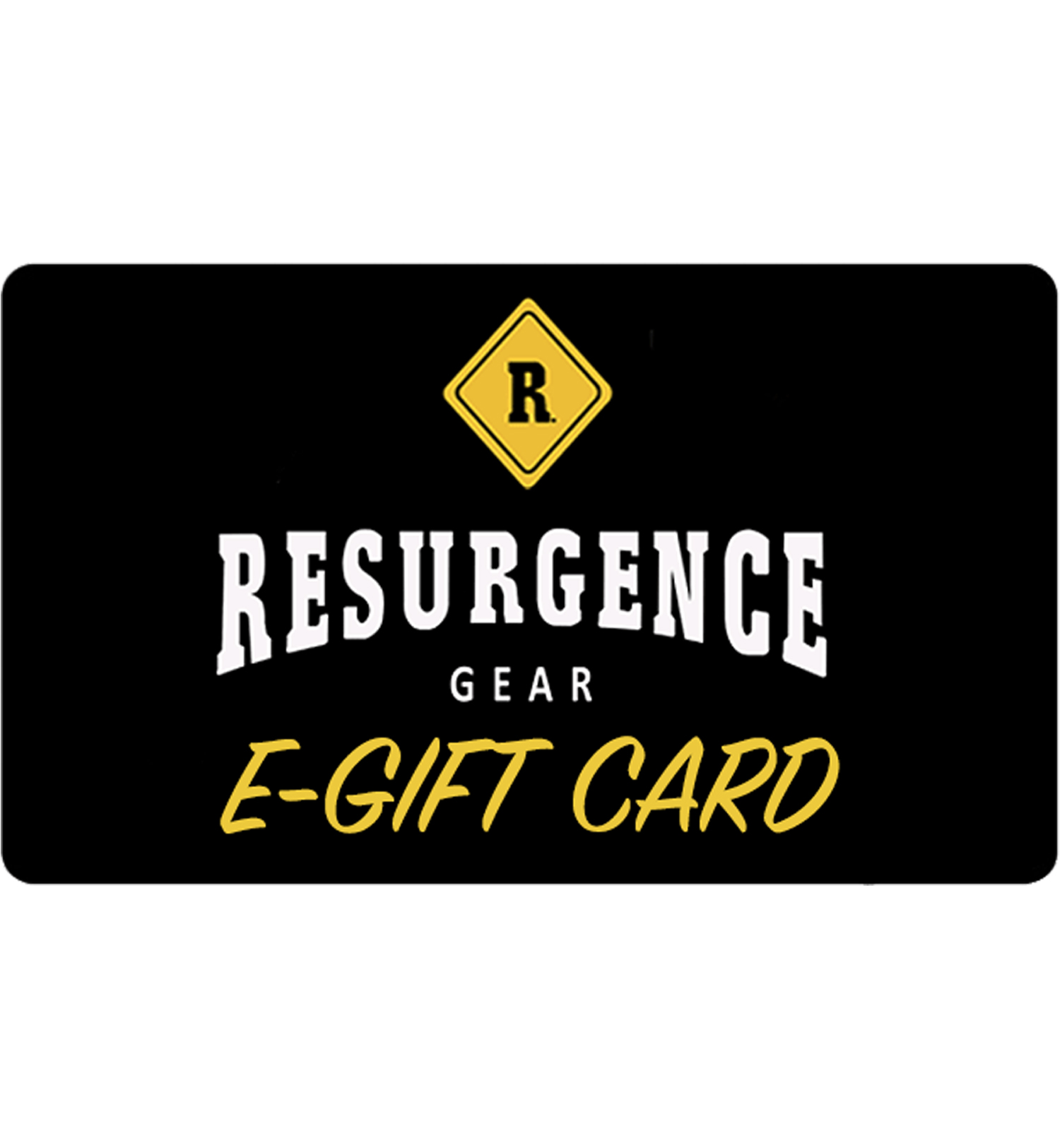 RESURGENCE GEAR : E-GIFT CARD