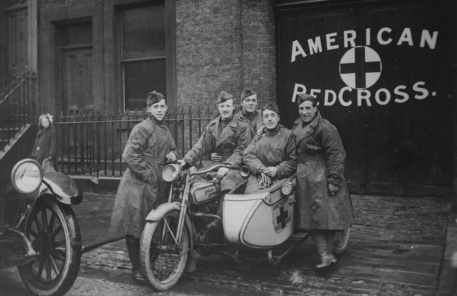 Harley-Davidson motorcycle during great world war 1