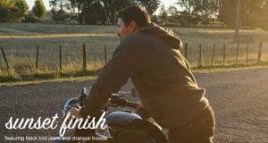 Resurgence Gear clothing - Sunset finish Ride along country side - Blog