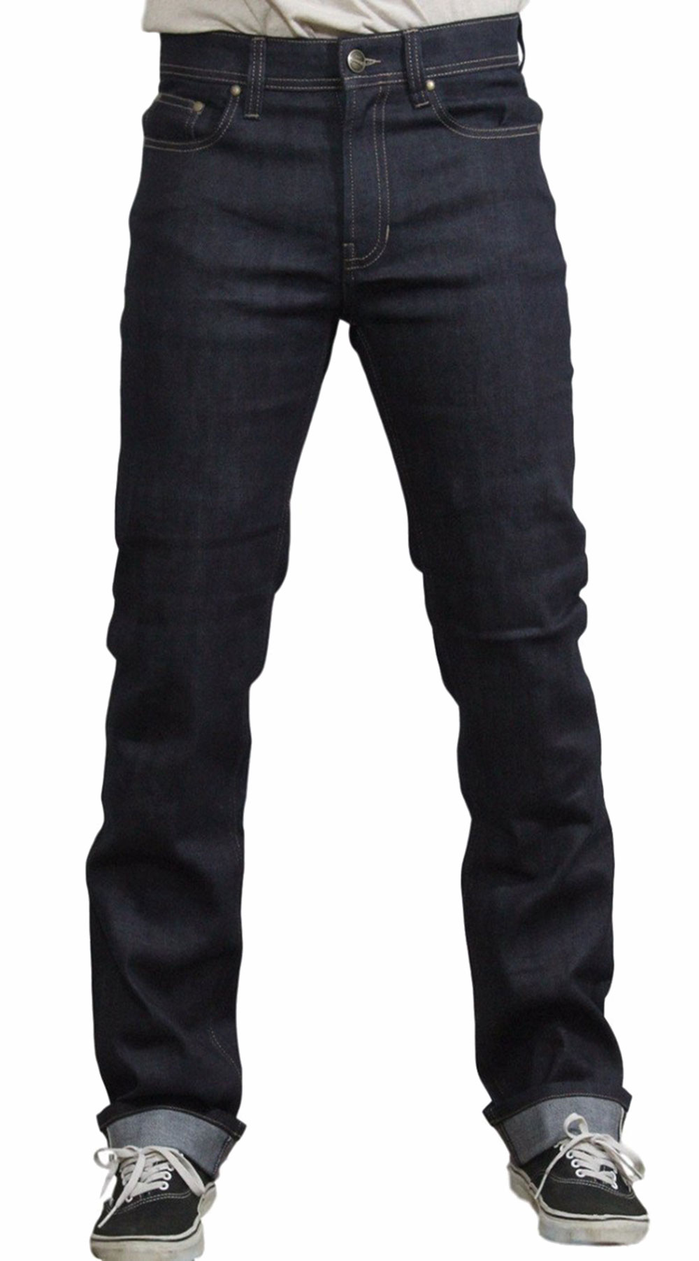 MENS JEANS : SLIM SELVEDGE