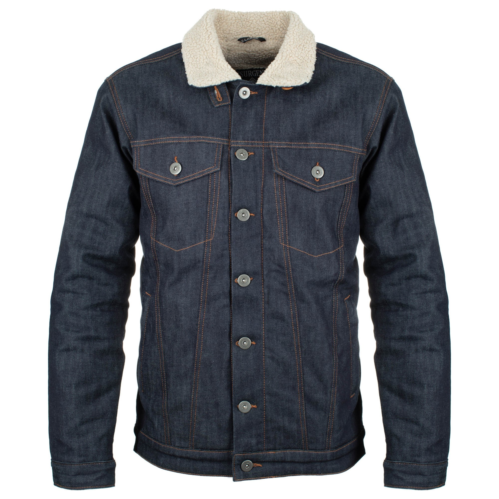 SHERPA JACKET : BLUE