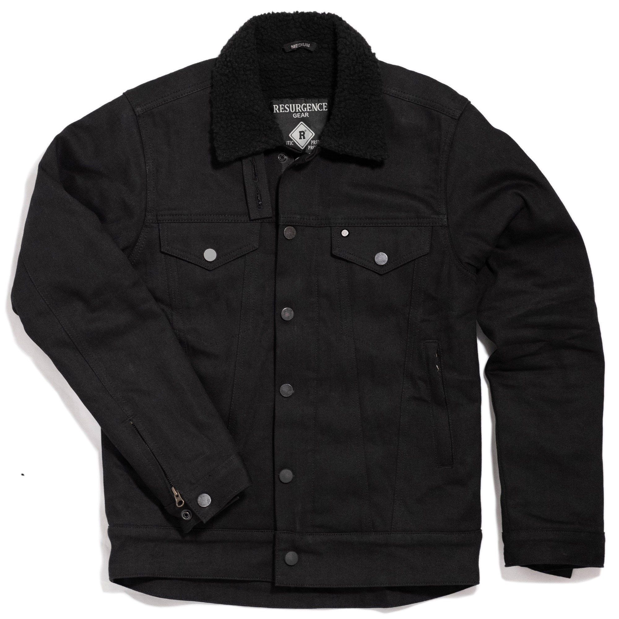 SHERPA JACKET : BLACK