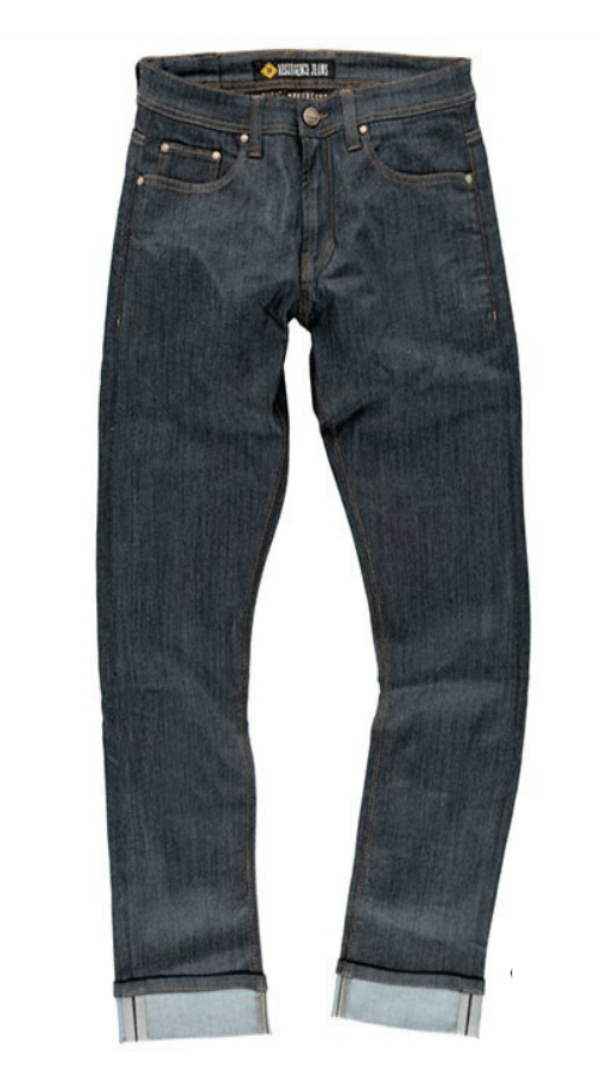 MENS WARRIOR JEANS : BLUE / BLACK