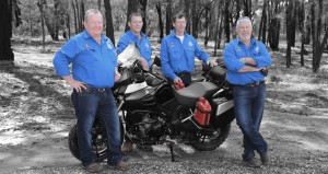 Motorcycle adventure for a cause - without a ribbon - Rare cancer support