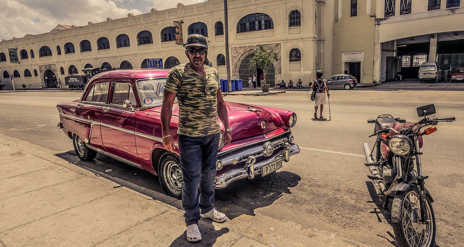 The Cuban Cruiser - Awesome Cuban guy in Resurgence Gear Jeans