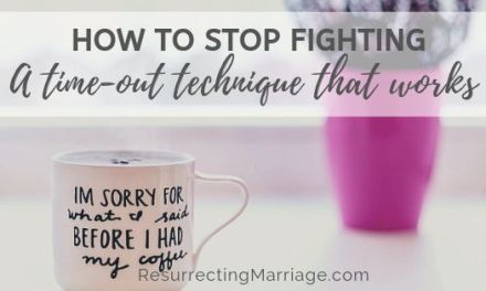 This Time-Out Strategy for Couples Really Works!