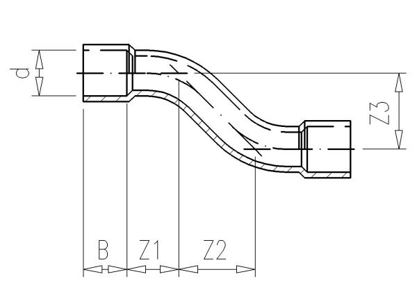 1.10 S-образный отвод PVC-U, Фитинги ПВХ клеевые, VDL ...