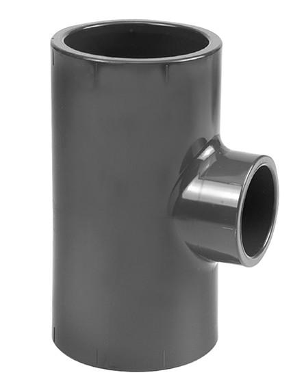 2.03 Тройник 90° PVC-U переходной, Фитинги ПВХ клеевые ...