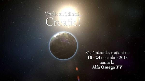 Verdictul Stiintei: Creatie - emisiuni despre creationism