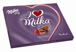 I love Milka Strawberry 120g