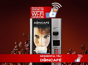 Doncafe WiFi-vending
