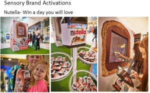 Nutella activation