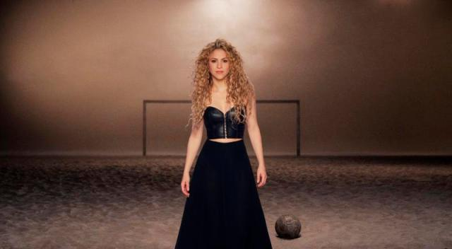 foto Shakira -videoclip La La La (Brazil 2014)