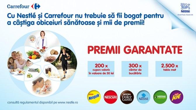 Foto Campanie Nestle si Carrefour