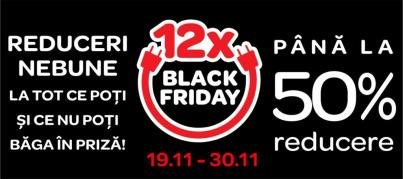 Black Friday la Carrefour