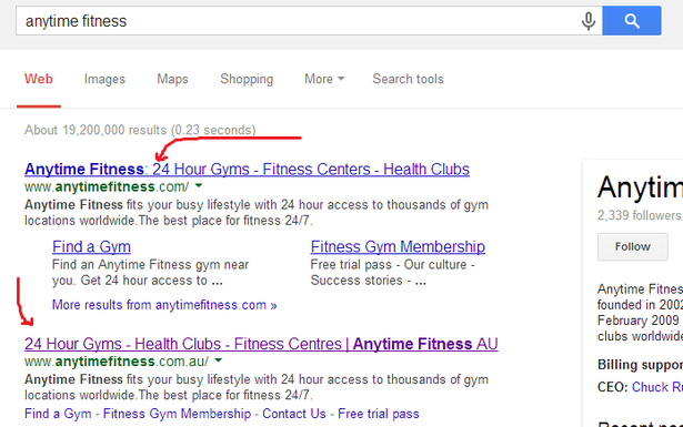 Anytime Fitness makes it clear about being 24 hour