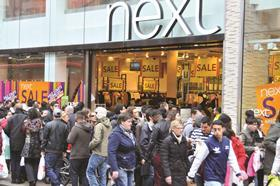Next has established Sales dates throughout the year