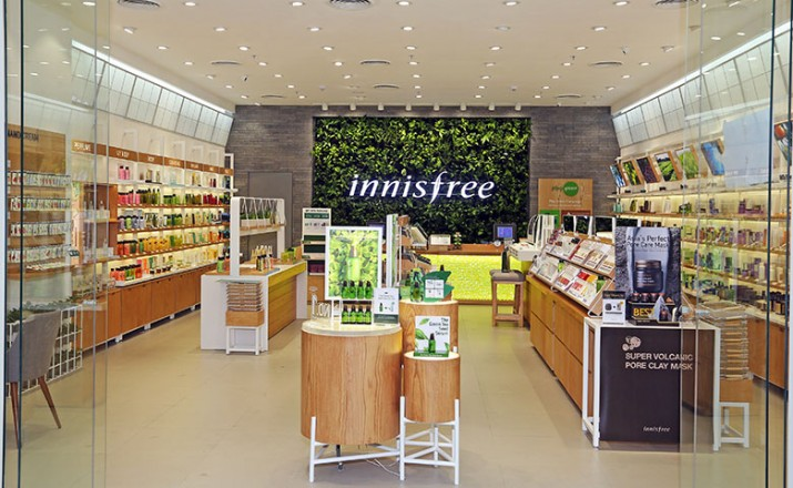 Korean brand Innisfree opens flagship store in Gurugram
