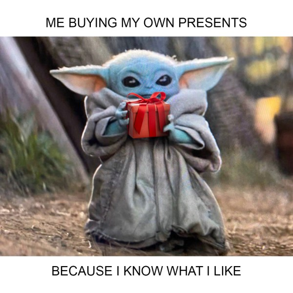 Baby Yoda Meme Presents - The Real Deal by RetailMeNot