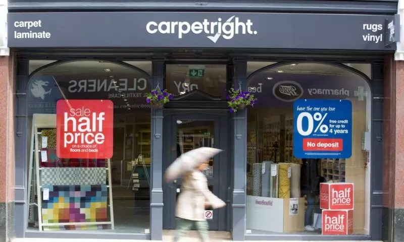 Carpetright warns on profit, blames reduced United Kingdom  consumer confidence