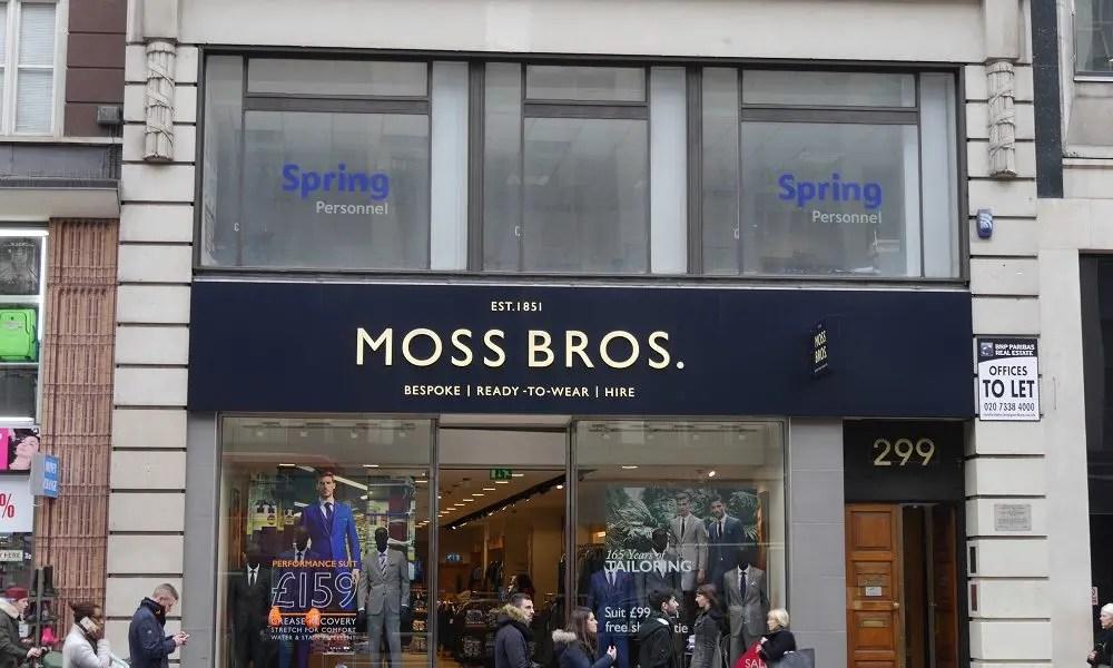 Stock shortfall hits Moss Bros profits