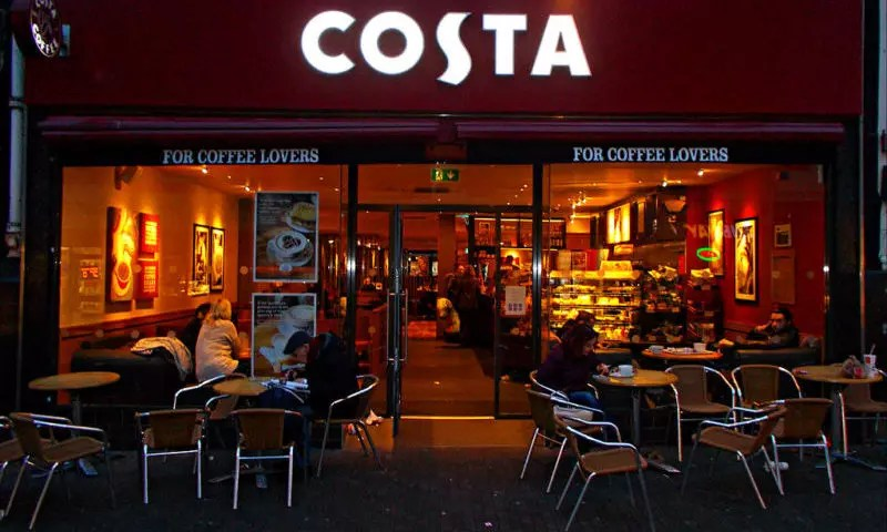 Whitbread blames subdued high street trading after Costa Coffee sales lose steam