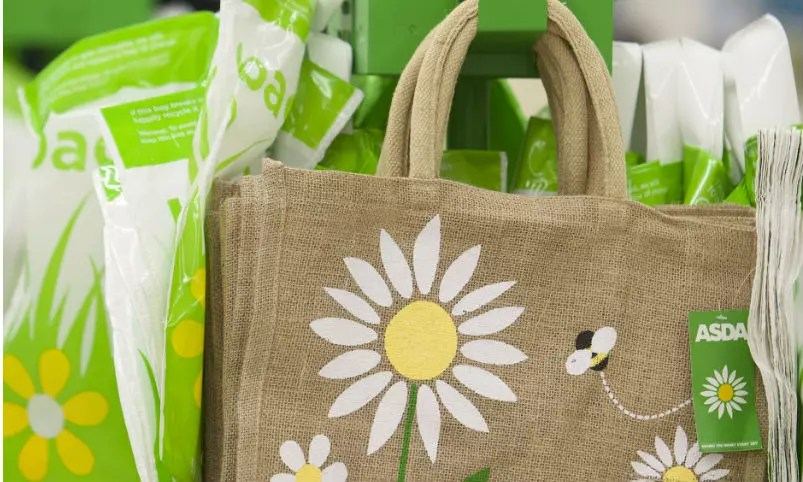 Asda to ditch 5p carrier bags by end of 2018