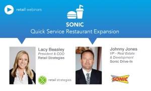Webinar: Quick Service Restaurants ~ Sonic