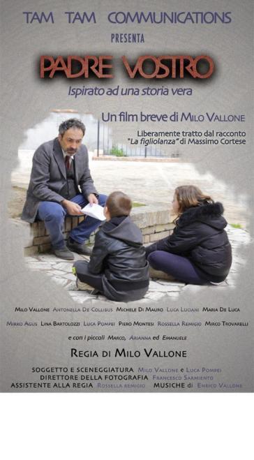 """Cinema: a """"Padre Vostro"""", di Vallone e Pompei, il premio come """"Miglior sceneggiatura"""" al RAG Film Festival di Venezia"""