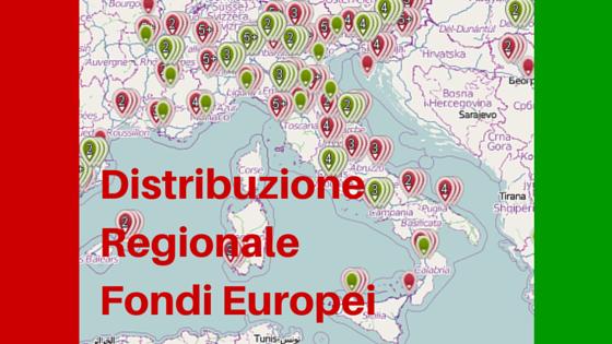 Fondi Europei: Quale Regione li ha Sfruttati di Più?