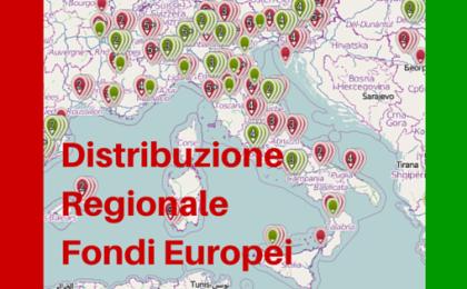 Distribuzione Regionale Fondi Europei