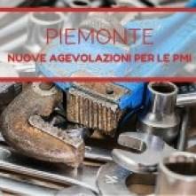 Agevolazioni PMI Piemonte