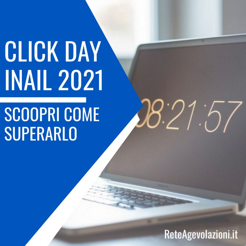 click day inail 2021