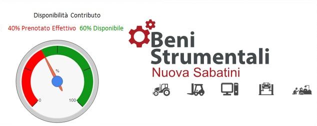 Nuova Sabatini - Agevolazione Acquisto Beni Strumentali