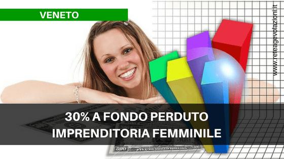 VENETO - Imprenditoria Femminile 2017