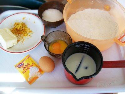 Ingrediente Reteta Cozonac pufos, simplu
