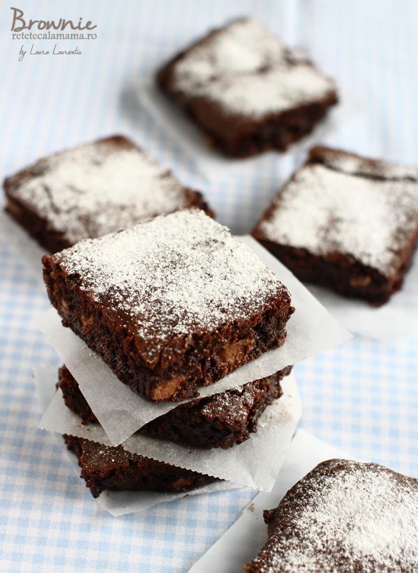 brownie-reteta de brownie, negresa, retetecalamamaro