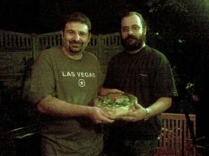 Tort Vivi si Paul cu Kiwi